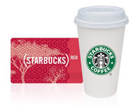 Get the RED card Starbucks users!